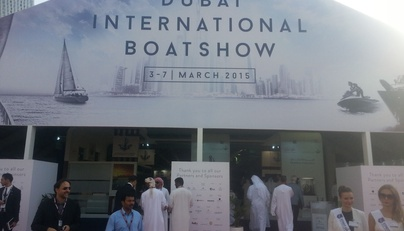 Dubai International boatshow 2015г