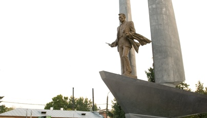 Alekseev's R.E. opening of the monument